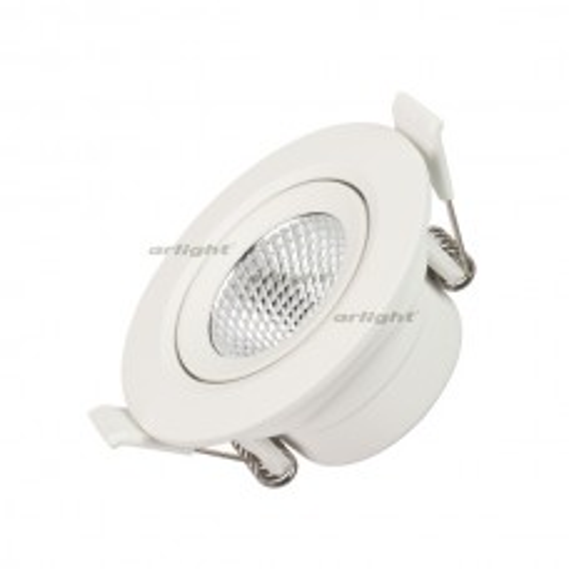 Светильник LTD-POLAR-TURN-R80-5W Day4000 (WH, 36 deg, 230V) (ARL, IP20 Пластик, 3 года)