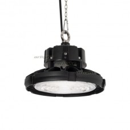 Светильник Arlight SP-FENIX-R245-100W White5000 (BK, 120 deg, 230V) IP65 Металл 031693