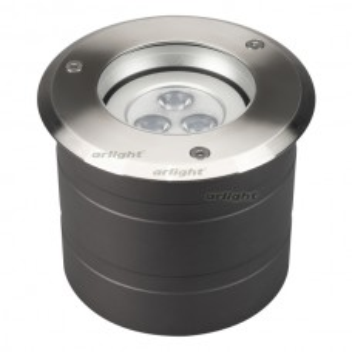 Светильник Arlight ART-GROUND-COLOR-TURN-R115-9W RGB (SL, 25 deg, 24V) IP67 Металл 024961