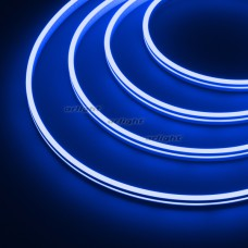 Гибкий неон Arlight ARL-MOONLIGHT-1004-SIDE 24V Blue 6.8 Вт/м, IP65 031014