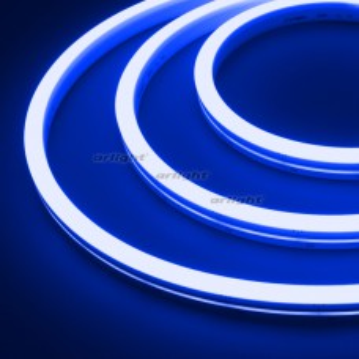 Гибкий неон Arlight ARL-MOONLIGHT-1712-SIDE 24V Blue 8 Вт/м, IP67 031022