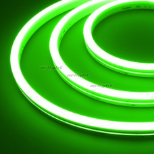 Гибкий неон Arlight ARL-MOONLIGHT-1712-SIDE 24V Green 8 Вт/м, IP67 031021