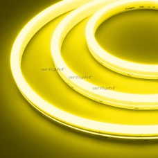 Гибкий неон Arlight ARL-MOONLIGHT-1712-SIDE 24V Yellow 8 Вт/м, IP67 031023