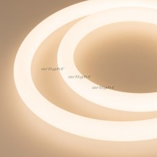 Герметичная лента MOONLIGHT-5000S-ROUND-2835-336-24V Warm (25х25mm, 14.4W, IP65) (ARL, 14.4 Вт/м, IP65)