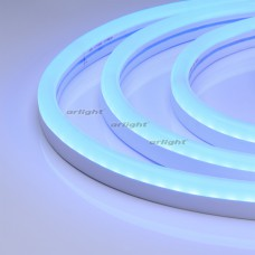 Гибкий неон Arlight ARL-NEON-2615BH-SIDE 24V Blue 8 Вт/м, IP65 030868