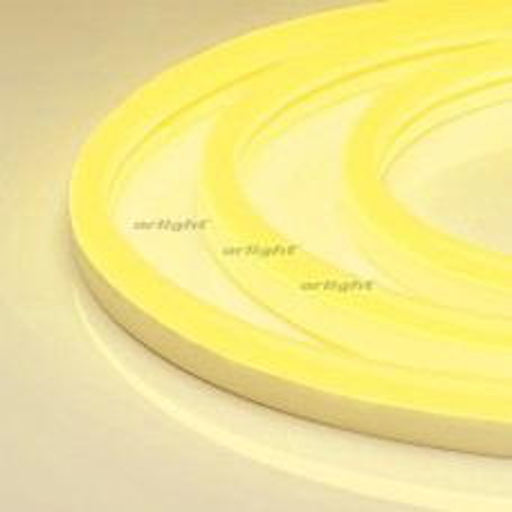Гибкий неон Arlight ARL-NEON-2615YH-SIDE 24V Yellow 8 Вт/м, IP65 030870