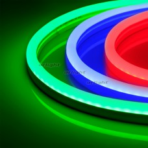 Гибкий неон Arlight ARL-NEON-2617-SIDE 24V RGB 8 Вт/м, IP65 030873