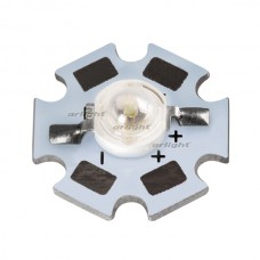 Мощный светодиод Arlight ARPL-STAR-1W-EPL30 Red (Emitter) 021161