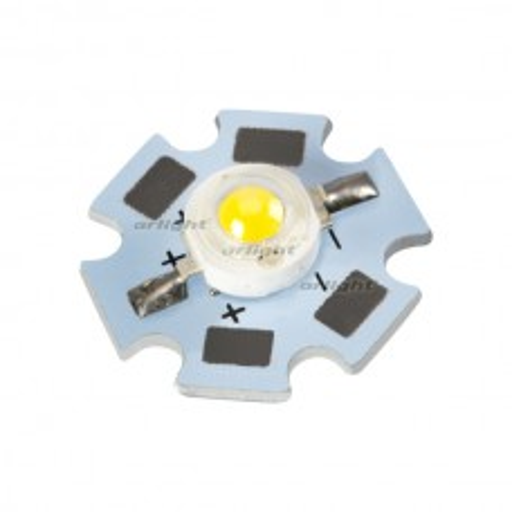 Мощный светодиод Arlight ARPL-Star-1W3W-BCB Day White (STAR type) 019587