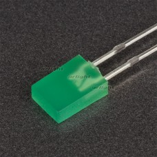 Светодиод Arlight ARL-2507LGD-10mcd (2x5мм) 004518