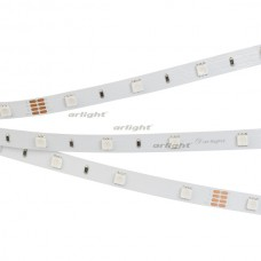 Светодиодная лента RT-B30-10mm 24V RGB (7.2 W/m, IP20, 5060, 5m) (ARL, Открытый) 022066(2)