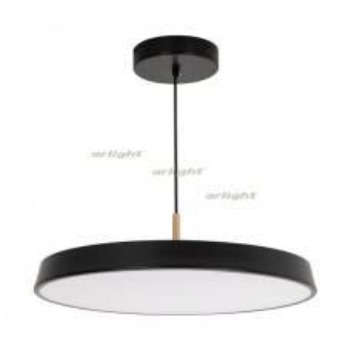 Светильник Arlight SP-ELEGANT-R500-37W Warm3000 (BK, 120 deg, 230V) IP20 Металл 033922