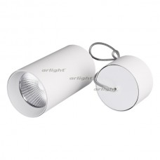 Светильник Arlight SP-POLO-HANG-R85-15W White5000 (WH-WH, 40 deg) IP20 Металл 027426