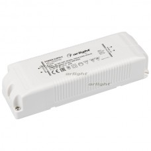 Блок питания ARJ-KE86700 (60W, 700mA, PFC) (Arlight, IP20 Пластик, 5 лет)