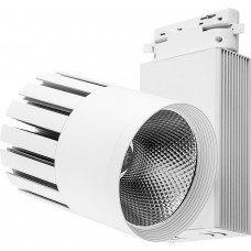 Светодиодный светильник Feron AL105 трековый на шинопровод 30W 4000K, 35 градусов, белый,  3-х фазный 32949