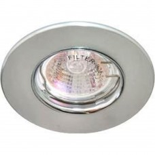 Светильник потолочный  MR16 MAX50W 12V G5.3, матовый хром, хром,DL108-С 28385
