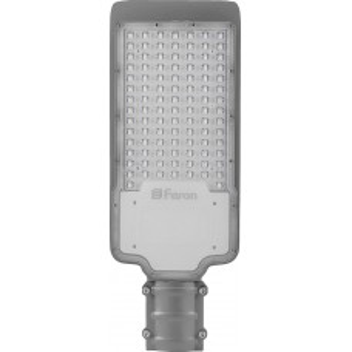 Светодиодный уличный консольный светильник Feron SP2918 120W 6400K AC100-265V, серый 32573