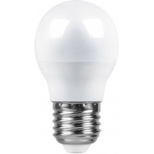 Лампа светодиодная Feron LB-95 Шарик E27 7W 6400K 25483