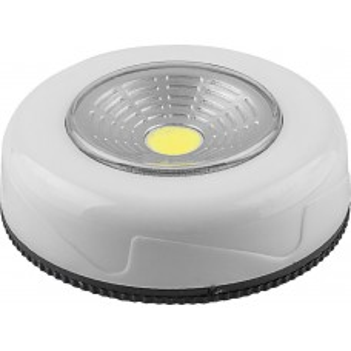 Светодиодный светильник-кнопка Feron FN1204 (1шт в блистере), 2W, белый 23373
