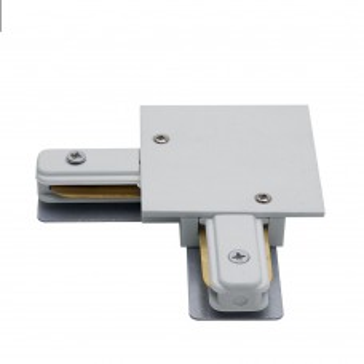 Коннектор угловой для встраиваемого шинопровода, белый, LD1005 10359