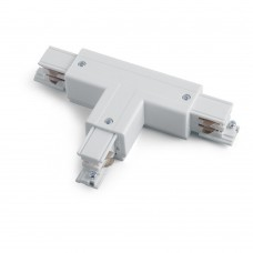 Коннектор Т-образный левый (внешний) для шинопровода, белый , PRO-0436 L1 41084