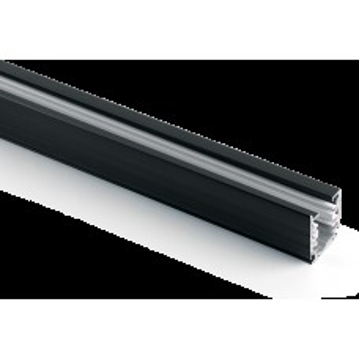 Шинопровод для трековых светильников , черный матовый , 2м , Ш2000-2М 41115