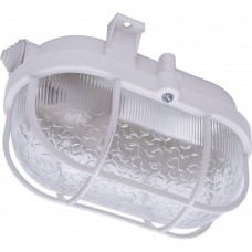 Светильник накладной с решеткой  IP54, 220V 60Вт Е27, НБП 01-60-002 41404