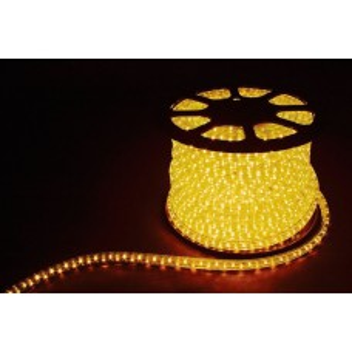 Дюралайт светодиодный Feron LED-R2W 2-х жильный , желтый 1,44Вт/м 36LED/м 100м 220V 26062