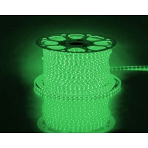 Cветодиодная LED лента Feron LS704, 60SMD(3528)/м 4.4Вт/м 100м IP65 220V зеленый 26241