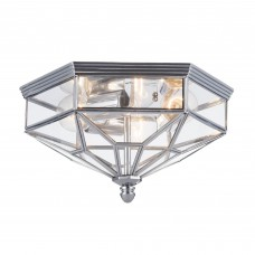 Светильник потолочный Maytoni Zeil H356-CL-03-CH E27 3x60W