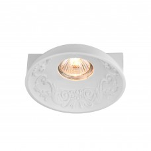 Встраиваемый светильник Maytoni Gyps Classic DL278-1-01-W