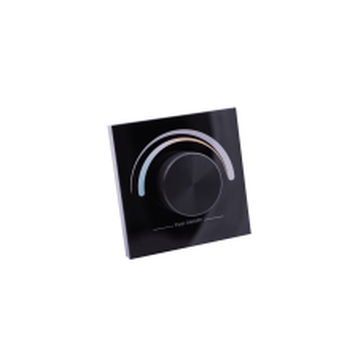 Панель EasyDim W-CCT-B встраиваемая, на 1 зону для MIX ленты, черная