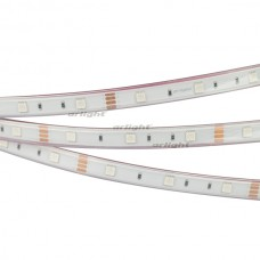 Лента Arlight RTW 2-5000P 12V RGB (5060, 150 LED, LUX) 7.2 Вт/м, IP66 014964