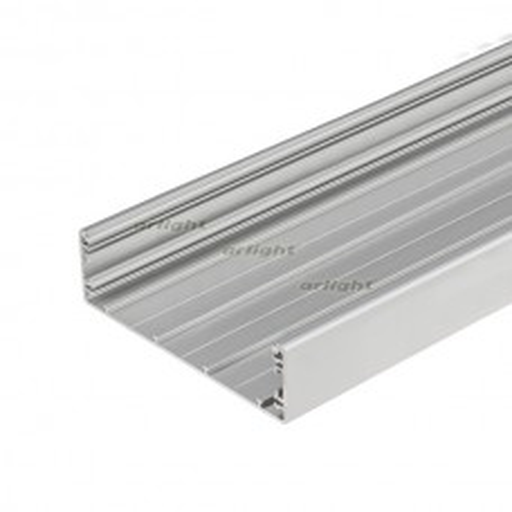 Профиль Arlight TOP-LINIA140-2000 ANOD Алюминий 016988