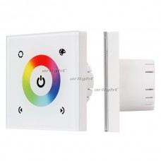 Панель Sens LN-08E White (RGB,12-24V,144-288W) (ARL, IP20 Пластик, 1 год)