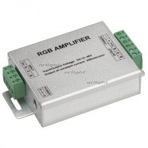 RGB-усилитель Arlight LN-350 (12-48V, 3x350mA, 50W) IP20 Металл 019493