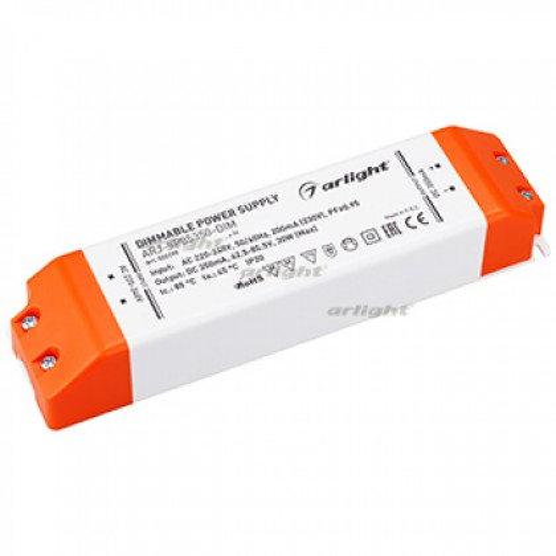 Блок питания Arlight ARJ-SP85350-DIM (30W, 350mA, PFC, Triac) IP20