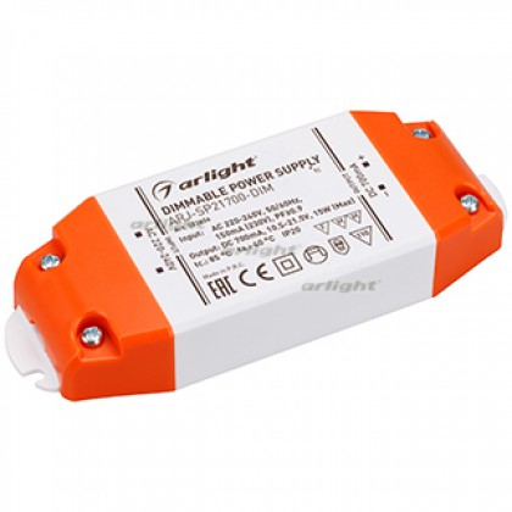 Блок питания Arlight ARJ-SP21700-DIM (15W, 700mA, PFC, Triac) IP20