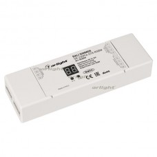 Диммер DALI SR-2309FA-DT8-RGBW (12-36V, 4x5A) (ARL, IP20 Пластик, 3 года)