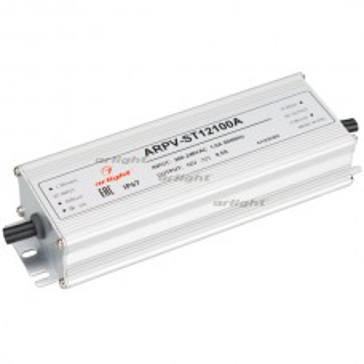 Блок питания ARPV-ST12100-A (12V, 8.5A, 100W) (ARL, IP67 Металл, 3 года)
