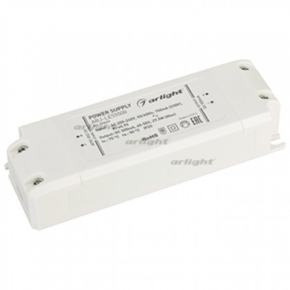 Блок питания Arlight ARJ-LE55500 (27.5W, 500mA, PFC, IP20)