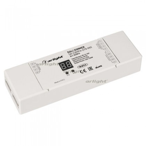 INTELLIGENT ARLIGHT Диммер DALI-104-MIX-DT8-SUF (12-36V, 4х5А) (IARL, IP20 Пластик, 3 года)