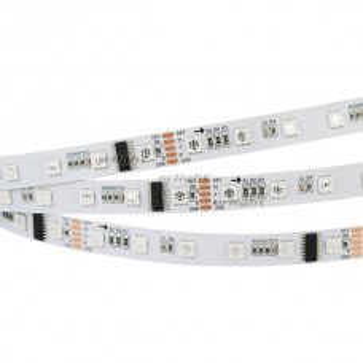 Лента Arlight DMX-5000-5060-60 24V Cx6 RGB (12mm, 12.5W, IP20)  024455(1)