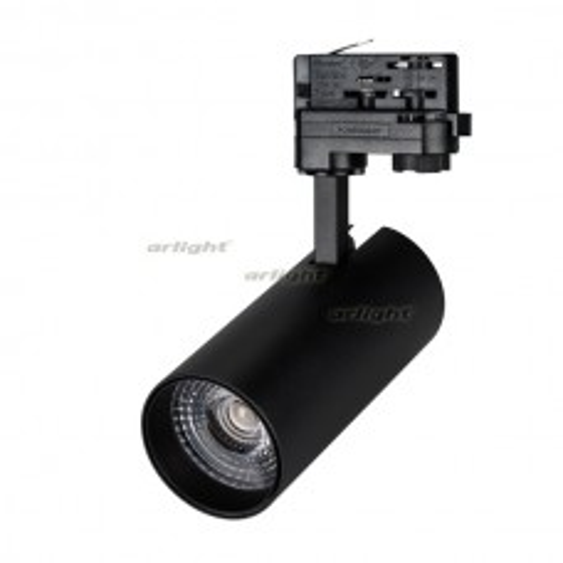 Светильник Arlight LGD-GERA-4TR-R74-20W Warm (BK, 24 deg) Arlight IP20 Металл 024625