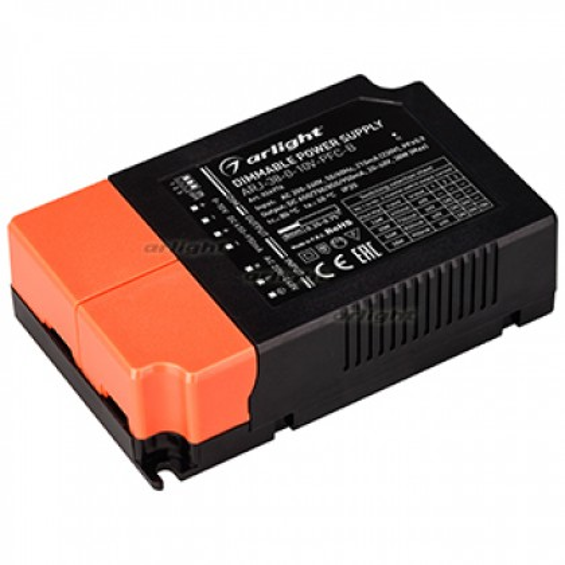Блок питания Arlight ARJ-38-0-10V-PFC-B (38W, 650-950mA) IP20
