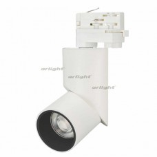 Светильник LGD-TWIST-TRACK-4TR-R70-15W White5000 (WH-BK, 30 deg) (ARL, IP40 Металл, 3 года)