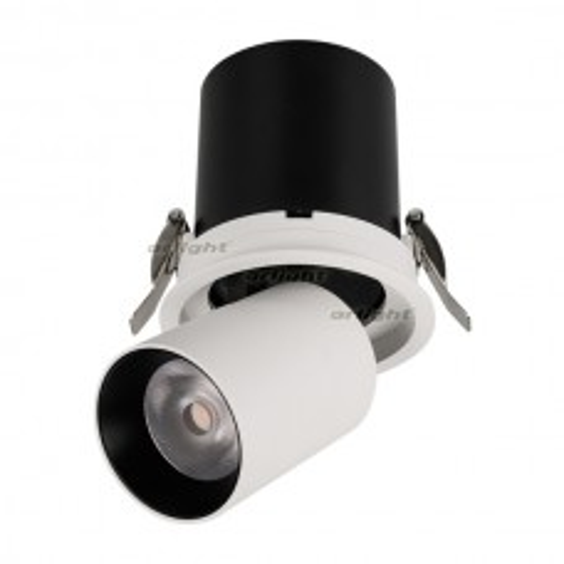 Светильник Arlight LGD-PULL-R100-10W White6000 (WH, 20 deg) IP20 Металл 026192