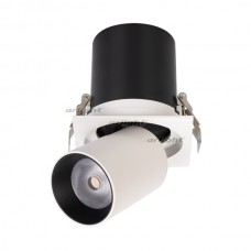 Светильник Arlight LGD-PULL-S100x100-10W White6000 (WH, 20 deg) IP20 Металл 026195