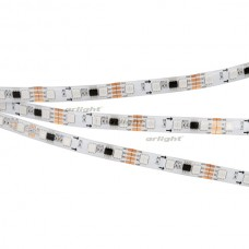 Лента Arlight SPI-5000SE-RAM-5060-60 12V Cx3 RGB-Auto (10mm, 12W/m, IP65) 028872