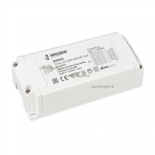 INTELLIGENT ARLIGHT Диммер TUYA-201-20W-DIM-WF-SUF (230V, 433MHz, 300-700mA) (IARL, IP20 Пластик, 3 года)